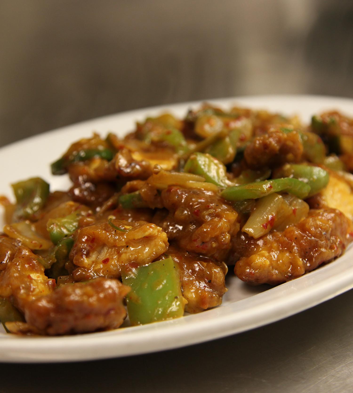 Chili Chicken Stirfry